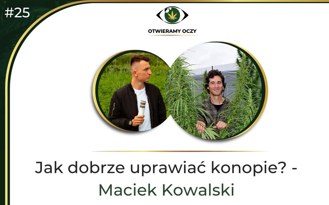 #25 Jak dobrze uprawiać konopie? – Maciej Kowalski