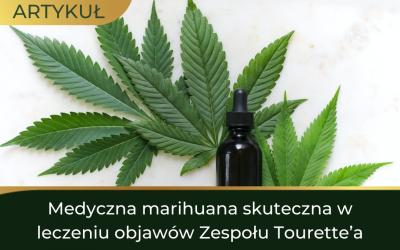 Medyczna marihuana skuteczna w leczeniu objawów Zespołu Tourette'a