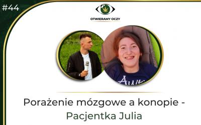 Porażenie mózgowe a konopie – Pacjentka Julia